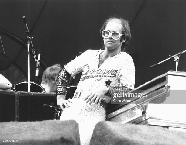 Elton John 1975 at Dodger Stadium