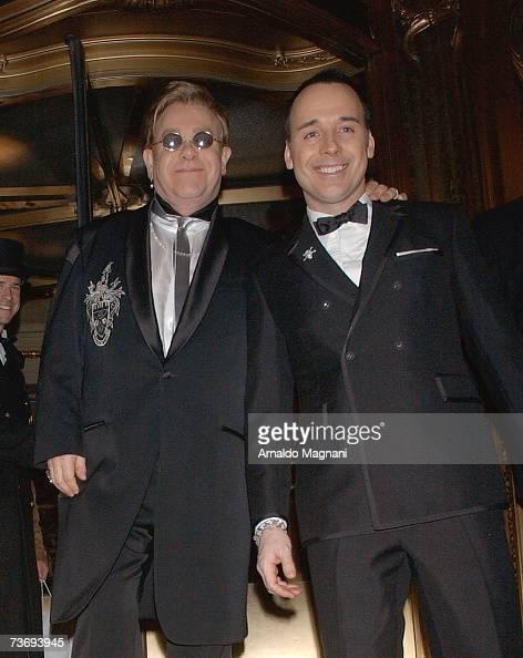Elton John and David Furnish...