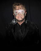 LOS ANGELES CA JANUARY 31 *EXCLUSIVE* Elton John attends the 52nd Annual GRAMMY Awards held at Staples Center on January 31 2010 in Los Angeles...
