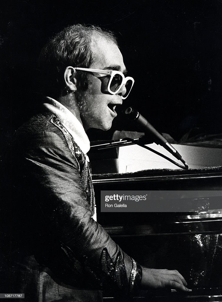 <a gi-track='captionPersonalityLinkClicked' href=/galleries/search?phrase=Elton+John&family=editorial&specificpeople=171369 ng-click='$event.stopPropagation()'>Elton John</a> during <a gi-track='captionPersonalityLinkClicked' href=/galleries/search?phrase=Elton+John&family=editorial&specificpeople=171369 ng-click='$event.stopPropagation()'>Elton John</a> In Concert - August 10, 1976 at Madison Square Garden in New York City, New York, United States.
