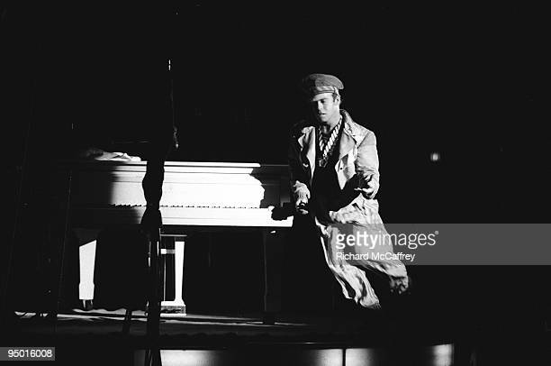 Elton John performs live at The Cow Palace in 1976 in San Francisco California
