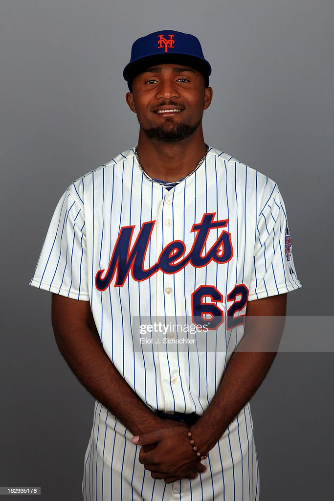 Elvin Ramirez #62 of the New York Mets poses during Photo Day on February 21, 2013 at Mets Stadium in Port St. Lucie, Florida.