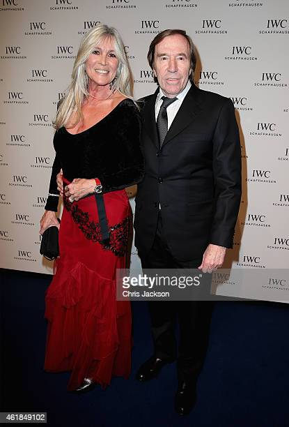 Elvira and Guenther Netzer attend the IWC Gala Dinner during the Salon International de la Haute Horlogerie 2015 at the Palexpo on January 20 2015 in...