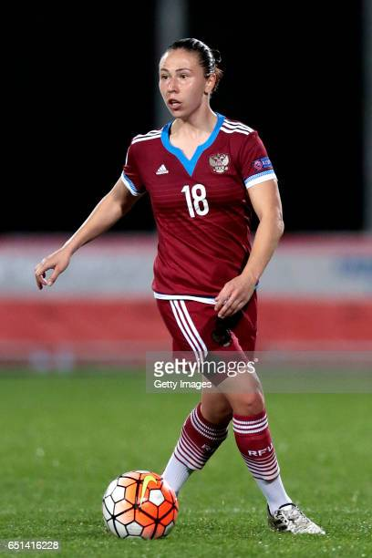 Elvira Ziastinova of Russia during the Algarve Cup Tournament Match between Sweden W and Russia W on March 8 2017 in Albufeira Portugal