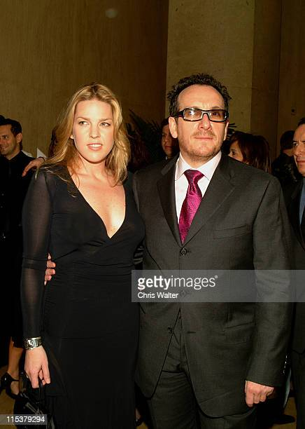 Elvis Costello and Diana Krall during ASCAP's 20th Annual Pop Music Awards Arrivals at The Beverly Hilton Hotel in Beverly Hills California United...