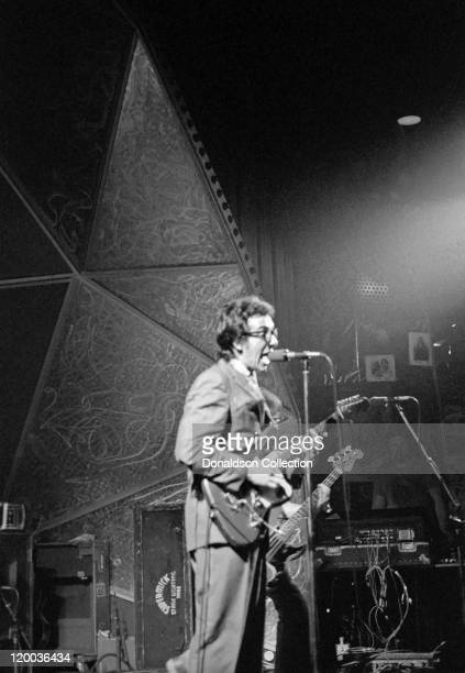 Elvis Costello and the Attractions perform live at the Dome on March 29 1978 in Brighton England