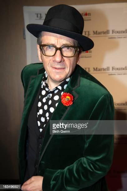 Elvis Costello attends the 5th annual Nashville Honors gala at the Hutton Hotel on March 10 2013 in Nashville Tennessee