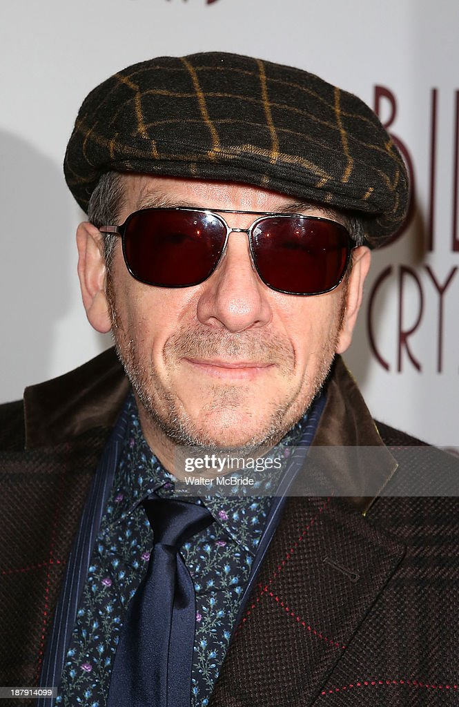<a gi-track='captionPersonalityLinkClicked' href=/galleries/search?phrase=Elvis+Costello&family=editorial&specificpeople=206830 ng-click='$event.stopPropagation()'>Elvis Costello</a> attends the 'Billy Crystal - 700 Sundays' Broadway Opening Night Performance at the Imperial Theatre on November 13, 2013 in New York City.