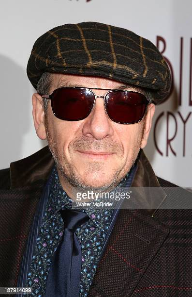 Elvis Costello attends the 'Billy Crystal 700 Sundays' Broadway Opening Night Performance at the Imperial Theatre on November 13 2013 in New York City