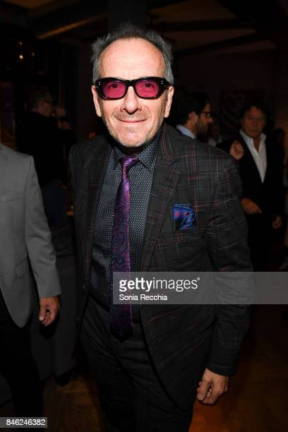 Elvis Costello attends the RBC hosted 'Film Stars Don't Die in Liverpool' cocktail party at RBC House Toronto Film Festival on September 12 2017 in...
