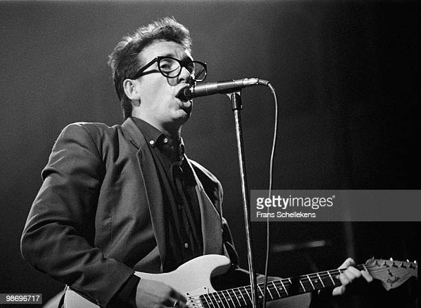 Elvis Costello performs live at Paradiso in Amsterdam Netherlands on April 19 1980