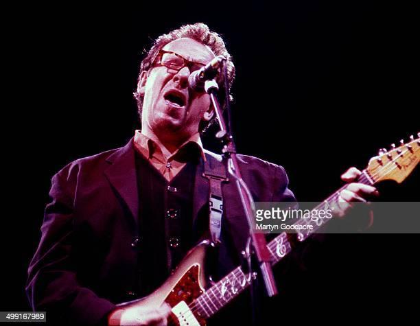 Elvis Costello performs on stage United Kingdom 1994