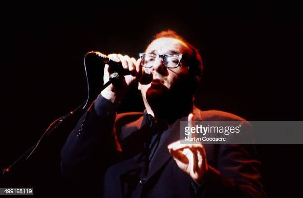 Elvis Costello performs on stage United Kingdom 1998