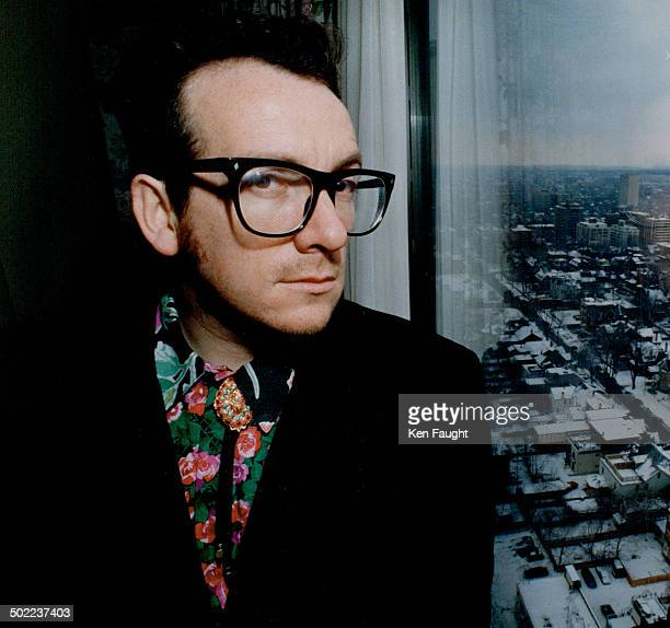 Elvis Costello Rocker gave rare interview during recent visit to town