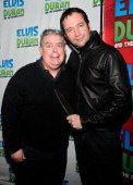 Elvis Duran and actor James Purefoy attend 'The Elvis Duran Z100 Morning Show' at Z100 Studio on February 10 2014 in New York City