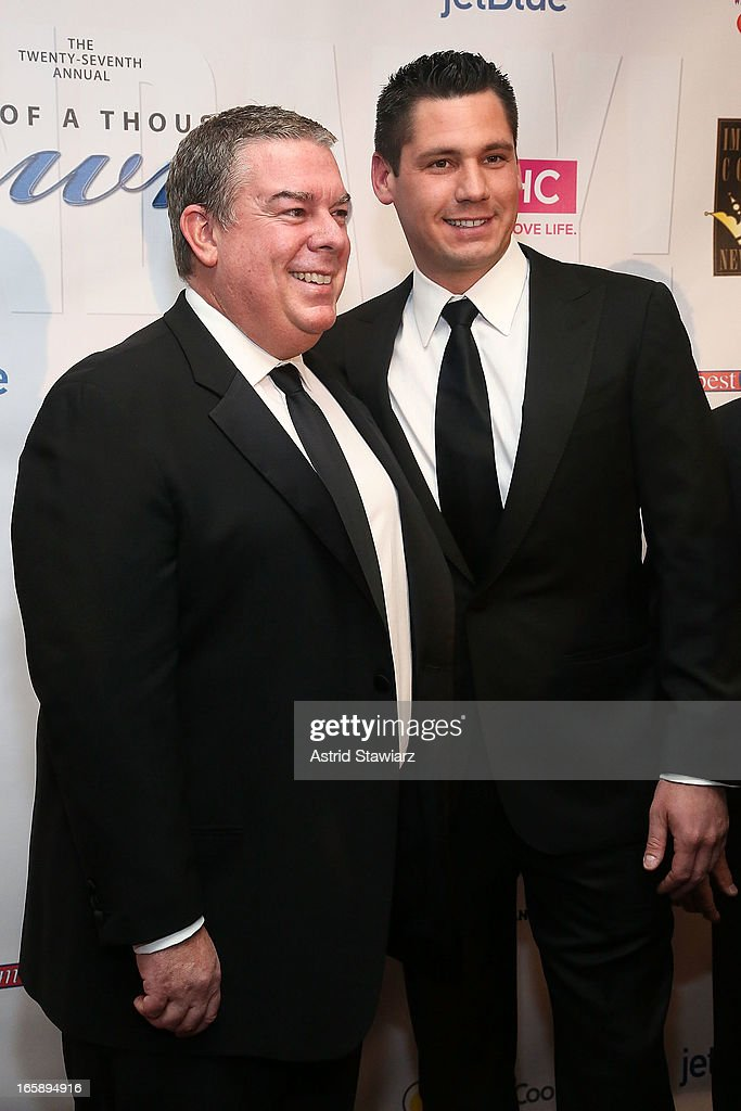 <a gi-track='captionPersonalityLinkClicked' href=/galleries/search?phrase=Elvis+Duran&family=editorial&specificpeople=3048281 ng-click='$event.stopPropagation()'>Elvis Duran</a> and Alex Carr attend the 27th Annual Night Of A Thousand Gowns at the Hilton New York on April 6, 2013 in New York City.