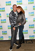 Elvis Duran and comedian Kathy Griffin attend 'The Elvis Duran Z100 Morning Show' at Z100 Studio on November 9 2015 in New York City