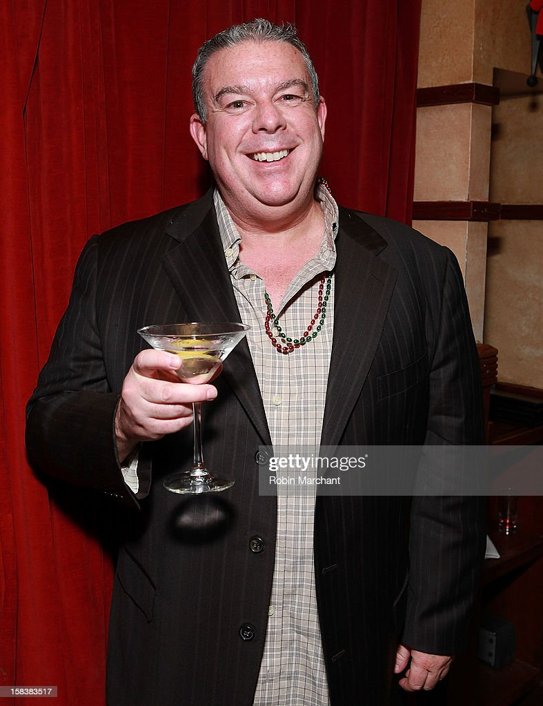 Elvis Duran attends Elvis Duran Morning Show Holiday Party at Carmine's on December 14, 2012 in New York City.