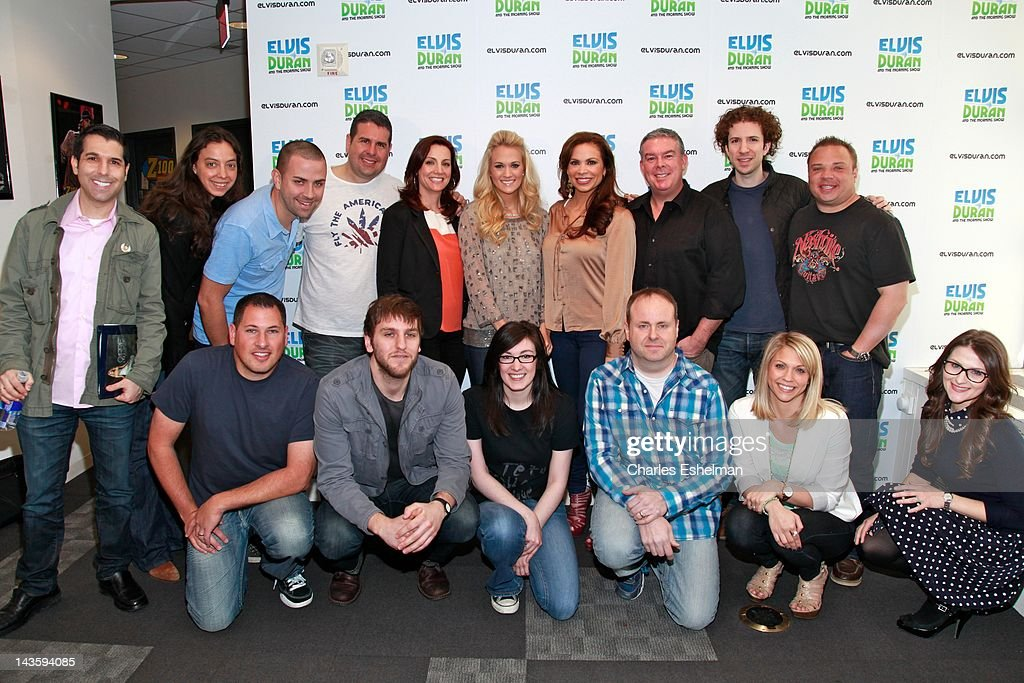 Carrie Underwood Visits The Z100 Elvis Duran Morning Show ...