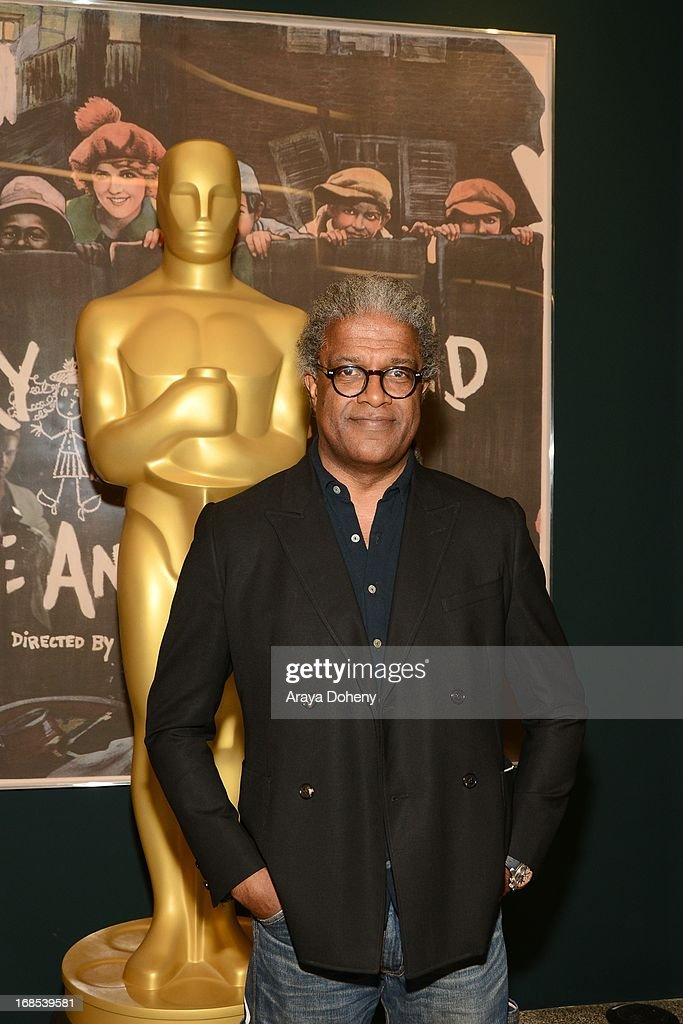 <a gi-track='captionPersonalityLinkClicked' href=/galleries/search?phrase=Elvis+Mitchell&family=editorial&specificpeople=567104 ng-click='$event.stopPropagation()'>Elvis Mitchell</a> attends the AMPAS Hosts 'Portrait of Jason' Screening at Linwood Dunn Theater at the Pickford Center for Motion Study on May 10, 2013 in Hollywood, California.