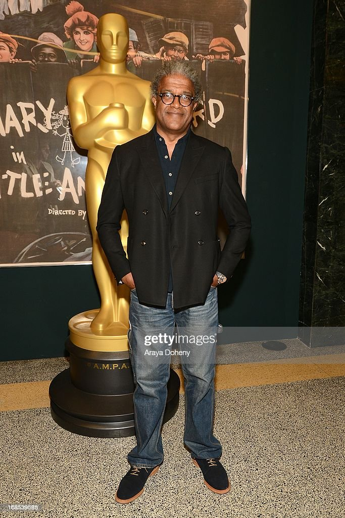 Elvis Mitchell attends the AMPAS Hosts 'Portrait of Jason' Screening at Linwood Dunn Theater at the Pickford Center for Motion Study on May 10, 2013 in Hollywood, California.