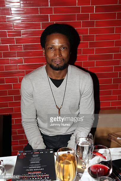 Elvis Nolasco attends 'Da Sweet Blood Of Jesus' dinner reception at Red Stixs on February 9 in New York City