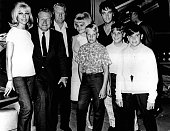 Elvis Presley and his family including his father Vernon Presley stepmother Dee Presley and her sons Ricky David and Billy Stanley join Nelson...