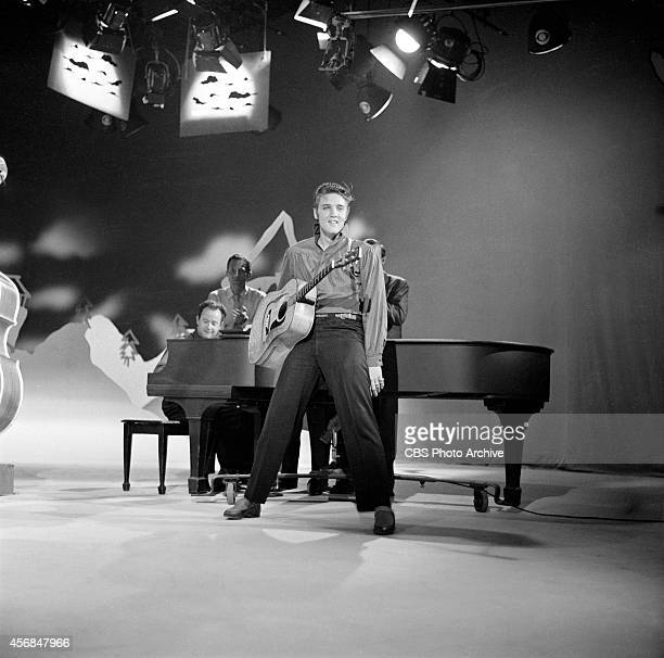 Elvis Presley on The Ed Sullivan Show at CBS Television City Los Angeles September 9 1956