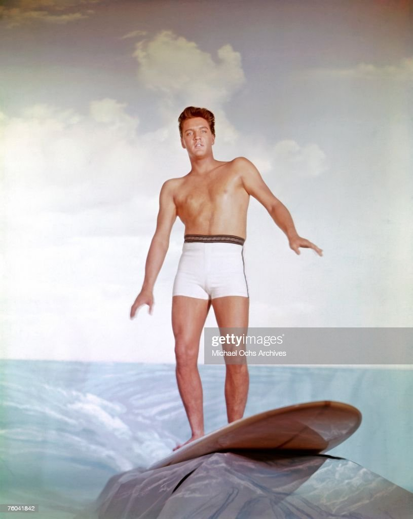 <a gi-track='captionPersonalityLinkClicked' href=/galleries/search?phrase=Elvis+Presley&family=editorial&specificpeople=67209 ng-click='$event.stopPropagation()'>Elvis Presley</a> poses for a publicity still to promote the movie 'Blue Hawaii' circa 1961 in Los Angeles California.