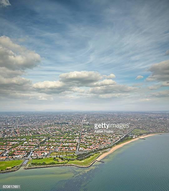 Elwood aerial view