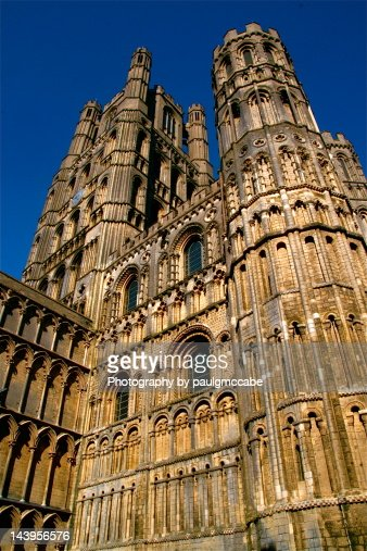 Ely Cathedral exterior : Stock Photo
