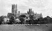 Ely cathedral United Kingdom 1922