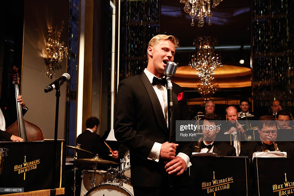 Elya Vasiliev performs during Mondays With Max: Max Weinberg's Rainbow Room Residency at The Rainbow Room on August 24, 2015 in New York City.