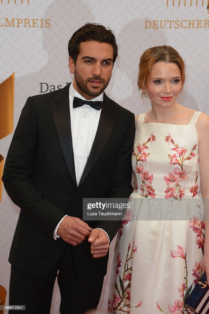 Elyas M Barek and <a gi-track='captionPersonalityLinkClicked' href=/galleries/search?phrase=Karoline+Herfurth&family=editorial&specificpeople=636213 ng-click='$event.stopPropagation()'>Karoline Herfurth</a> attend the Lola - German Film Award 2014 at Tempodrom on May 9, 2014 in Berlin, Germany