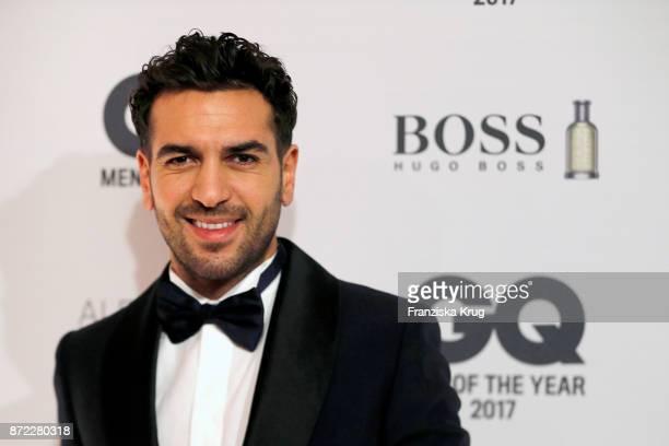 Elyas M ́Barek arrives for the GQ Men of the year Award 2017 at Komische Oper on November 9 2017 in Berlin Germany