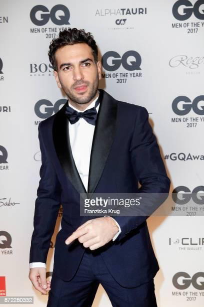 Elyas M Barek arrives for the GQ Men of the year Award 2017 at Komische Oper on November 9 2017 in Berlin Germany