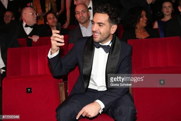 Elyas M'Barek arrives for the GQ Men of the year Award 2017 at Komische Oper on November 9 2017 in Berlin Germany