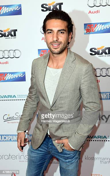 Elyas M'Barek attends the Audi Director's Cut at the Praterinsel during the Munich Film Festival at Praterinsel on June 27 2015 in Munich Germany