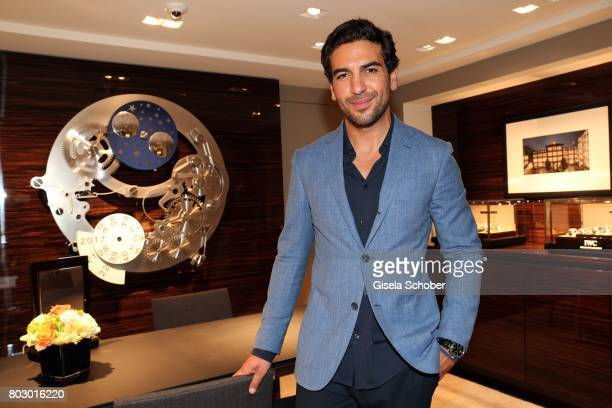 Elyas M'Barek attends the exclusive grand opening event of the new IWC Schaffhausen Boutique in Munich on June 28 2017 in Munich Germany