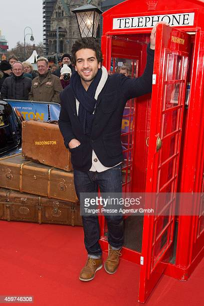 Elyas M'Barek attends the German premiere of the film 'Paddington' at Zoo Palast on November 30 2014 in Berlin Germany