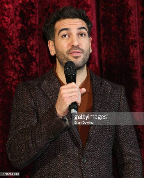 Elyas M'Barek attends the 'Paddington 2' premiere at Zoo Palast on November 12 2017 in Berlin Germany