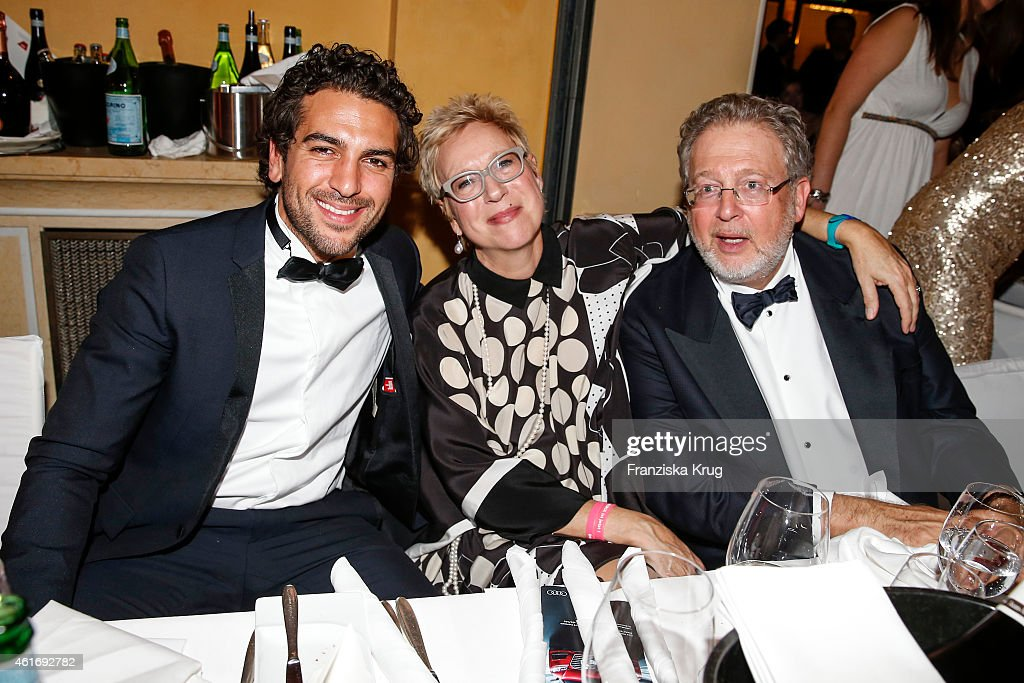 <a gi-track='captionPersonalityLinkClicked' href=/galleries/search?phrase=Elyas+M%27Barek&family=editorial&specificpeople=3967406 ng-click='$event.stopPropagation()'>Elyas M'Barek</a>, Doris Doerrie and <a gi-track='captionPersonalityLinkClicked' href=/galleries/search?phrase=Martin+Moszkowicz&family=editorial&specificpeople=3273455 ng-click='$event.stopPropagation()'>Martin Moszkowicz</a> attend the German Film Ball 2015 on January 17, 2015 in Munich, Germany.