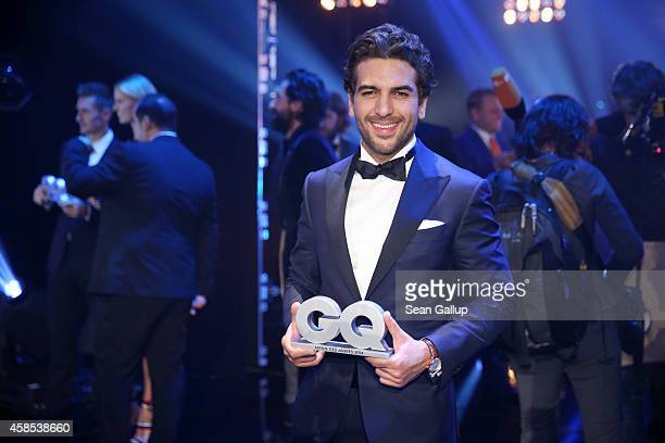 Elyas M'Barek is seen on stage at the GQ Men Of The Year Award 2014 at Komische Oper on November 6 2014 in Berlin Germany