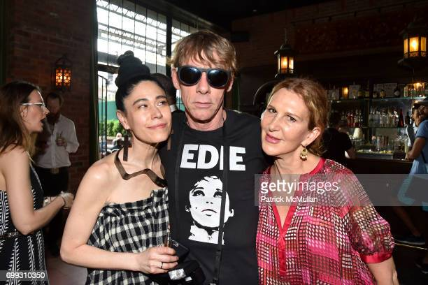 Elyn Kuznetsova Dustin Pittman and Kim Cullen attend Walt Cessna ReMemory and Tribute at Bowery Hotel on June 12 2017 in New York City