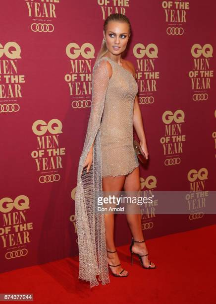 Elyse Knowles attends the GQ Men Of The Year Awards at The Star on November 15 2017 in Sydney Australia