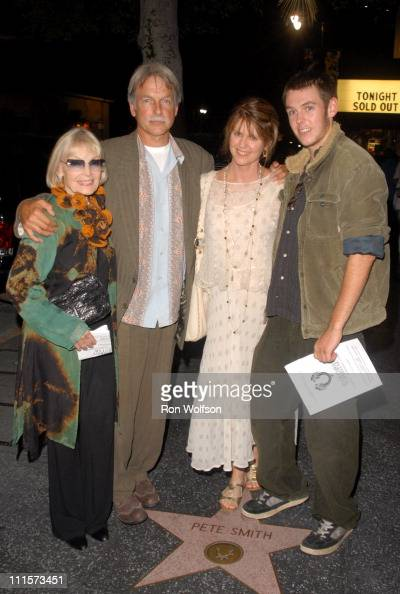 Elyse Knox Mark Harmon Pam Dawber and son Sean during 'Jesus Christ Superstar' Los Angeles Performance August 13 2006 at Ricardo Montalban Theatre in...