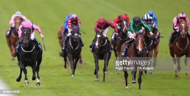 Elysium Dream ridden by Tom Marquand wins The £150000 Tattersall October Auction Stakes at Newmarket Racecourse