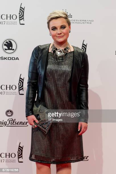 Elzbieta Steinmetz Elaiza on the red carpet during the ECHO German Music Award in Berlin Germany on April 06 2017