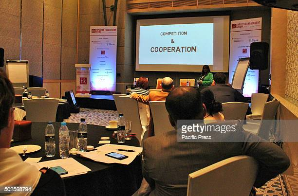 Emaar Hospitality Group Senior Manager Corporate Learning Development Sushma Ceasar's topic focused on Innovative gamification strategies to engage...
