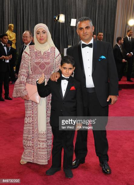 Emad Burnat arriving for the 85th Academy Awards at the Dolby Theatre Los Angeles